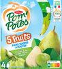 POM'POTES SSA 5 Fruits Verts (Pomme- Kiwi- Poire- Prune- Raisin) - Product