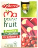 Ma pause fruit - Pomme Rhubarbe Cranberry - Product
