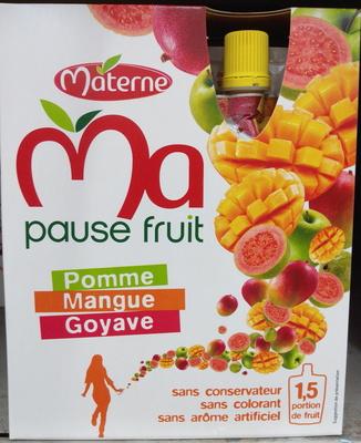 Ma pause fruit Pomme Mangue Goyave - Produit