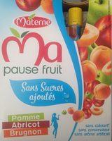 Ma Pause Fruit Pomme Abricot Brugnon - Product