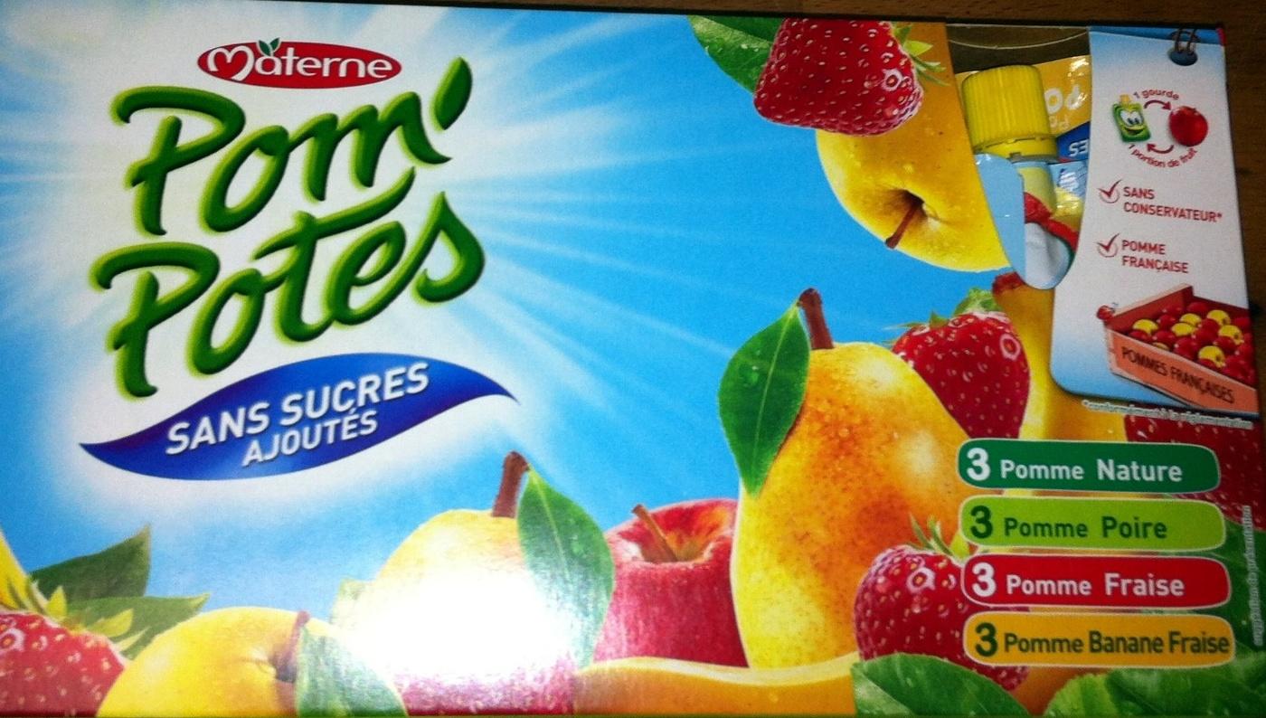 pom potes sans sucres ajout 233 s 1080 g 12 90 g