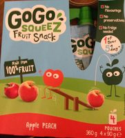 Gogo squeez fruit snack - Product