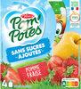 POM'POTES SSA Pomme Fraise - Product