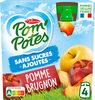 Pom' Potes Pomme Brugnon sans sucres ajoutés - Produkt