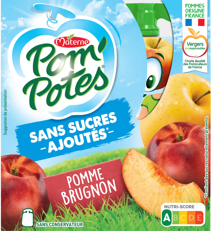 POM'POTES SSA Pomme Brugnon - Produit - fr