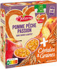 MATERNE SSA Pomme Pêche Passion Céréales & Graines 4x90g - Product