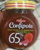Confipote Fraise & de Rhubarbe - Produit