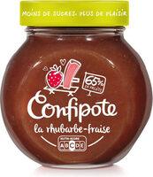 CONFIPOTE La Rhubarbe-fraise - Produit - fr