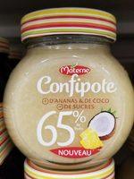 Confipote ananas & coco - Produit