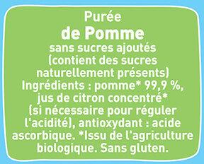 Gourdes Pomme nature - Ingredients - fr