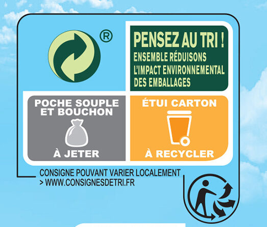 Gourdes Pomme nature - Recycling instructions and/or packaging information - fr