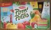 Pom' Potes Pomme Abricot, Poire, Fraise, Nature - Produit