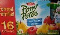 Pom'potes ssa 8 pom & 8 pomme poire 16 x 90 g. format familial - Product