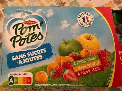 Pom'Potes sans sucres ajoutes - Product - fr