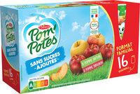 POM'POTES SSA Pomme/Pomme Brugnon 16x90g Format Familial - Produit - fr