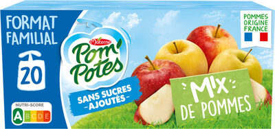 POM'POTES SSA Mix de Pommes 20x90g Format Familial - Produit - fr