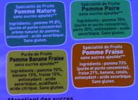 Pack de Pom'potes - Ingredients