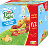 POM'POTES SSA Pomme/Pomme Brugnon/Pomme Banane/Pomme Fraise 112x90g Format Familial - Product