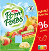 POM'POTES Pomme/Pomme Banane/Pomme Fraise 96x90g Format Familial - Product