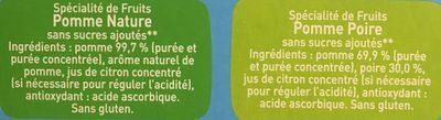 96 Pom'potes - Ingrediënten - fr