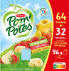 POM'POTES Pomme/Pomme Banane/Pomme Fraise 96x90g 64+32 Offertes - Product
