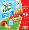 POM'POTES SSA Pomme/Pomme Brugnon 96x90g Format Familial - Produit
