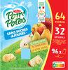 POM'POTES SSA Pomme/Pomme Poire/Pomme Banane 96x90g 64+32 Offertes - Produit