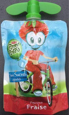 Pom'Potes (Pomme/Fraise) sans sucres ajoutés - Prodotto - fr