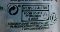 Pom'Potes Pomme Poire Sans sucres ajoutés - Recycling instructions and/or packaging information - fr