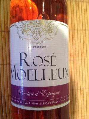 Rose moelleux vin d'Espagne 10,5% - Product