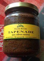 Tapenade aux olives noires - Produit - fr