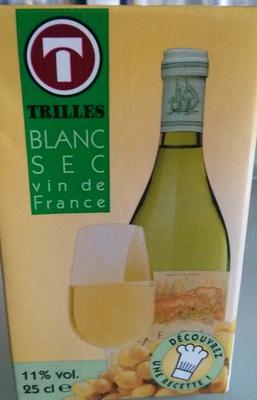 Trilles - Blanc sec - Vin de France - Produit - fr