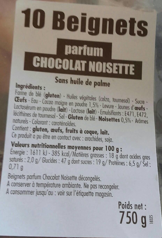 Beignet choco noisette - Produit - fr
