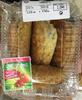 Chaussons fourrés pommes framboises - Product