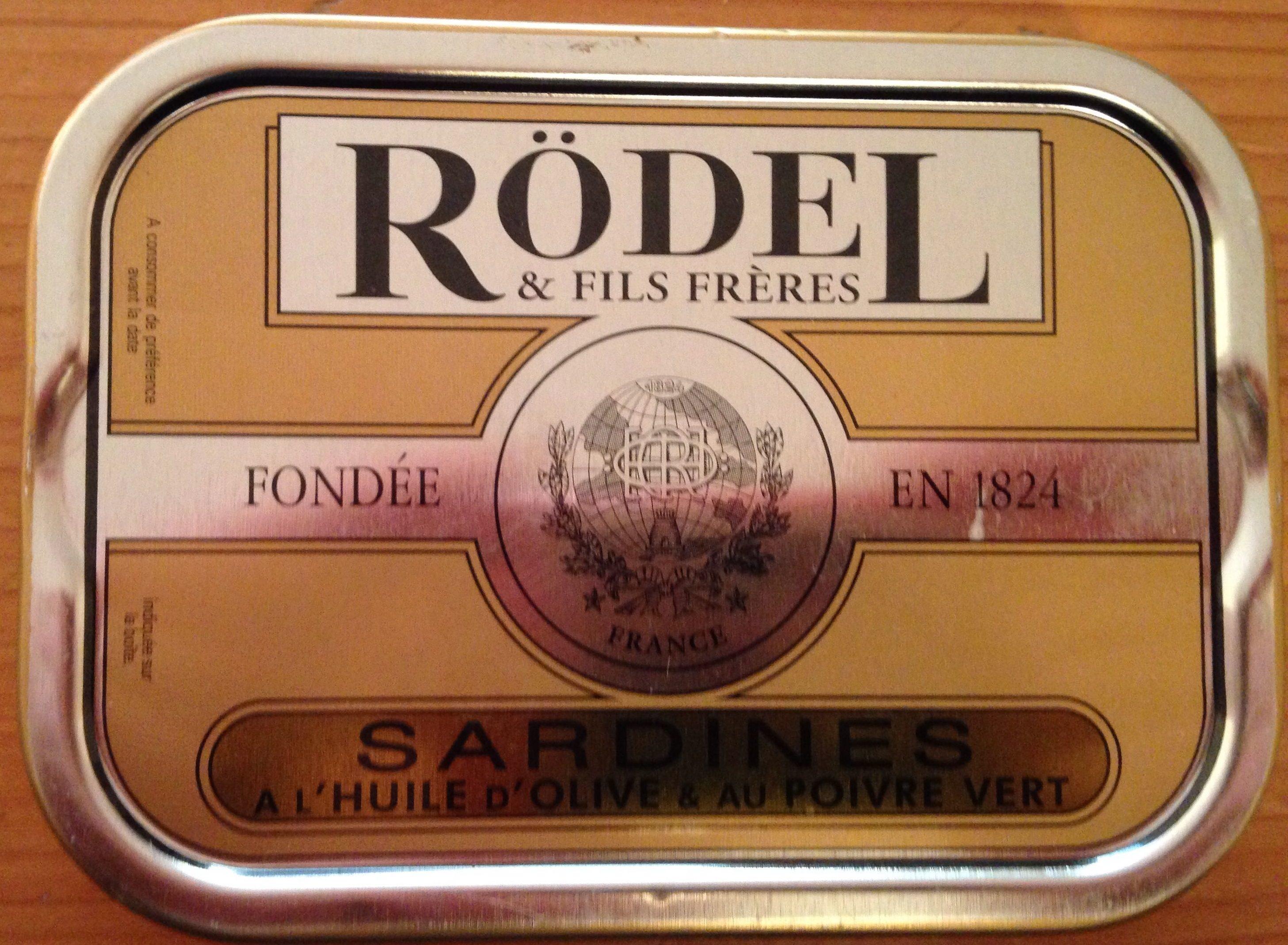 Sardines à L'huile D'olive Et Au Poivre Vert - Produit - fr