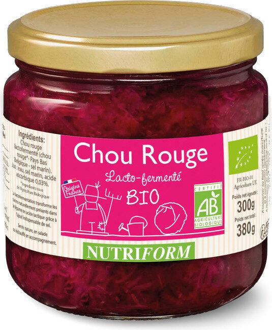 Chou rouge lacto-fermenté BIO Nutriform - Prodotto - fr