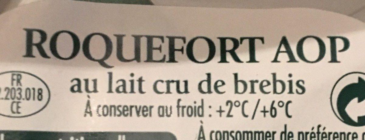 Roquefort société portions - Ingrédients