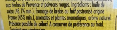 Salakis Herbes de Provence - Ingredienser - fr