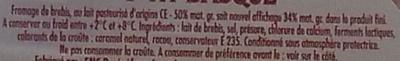 P'tit Basque - Ingredients