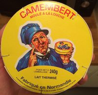 Camembert (20% MG) - Produit - fr