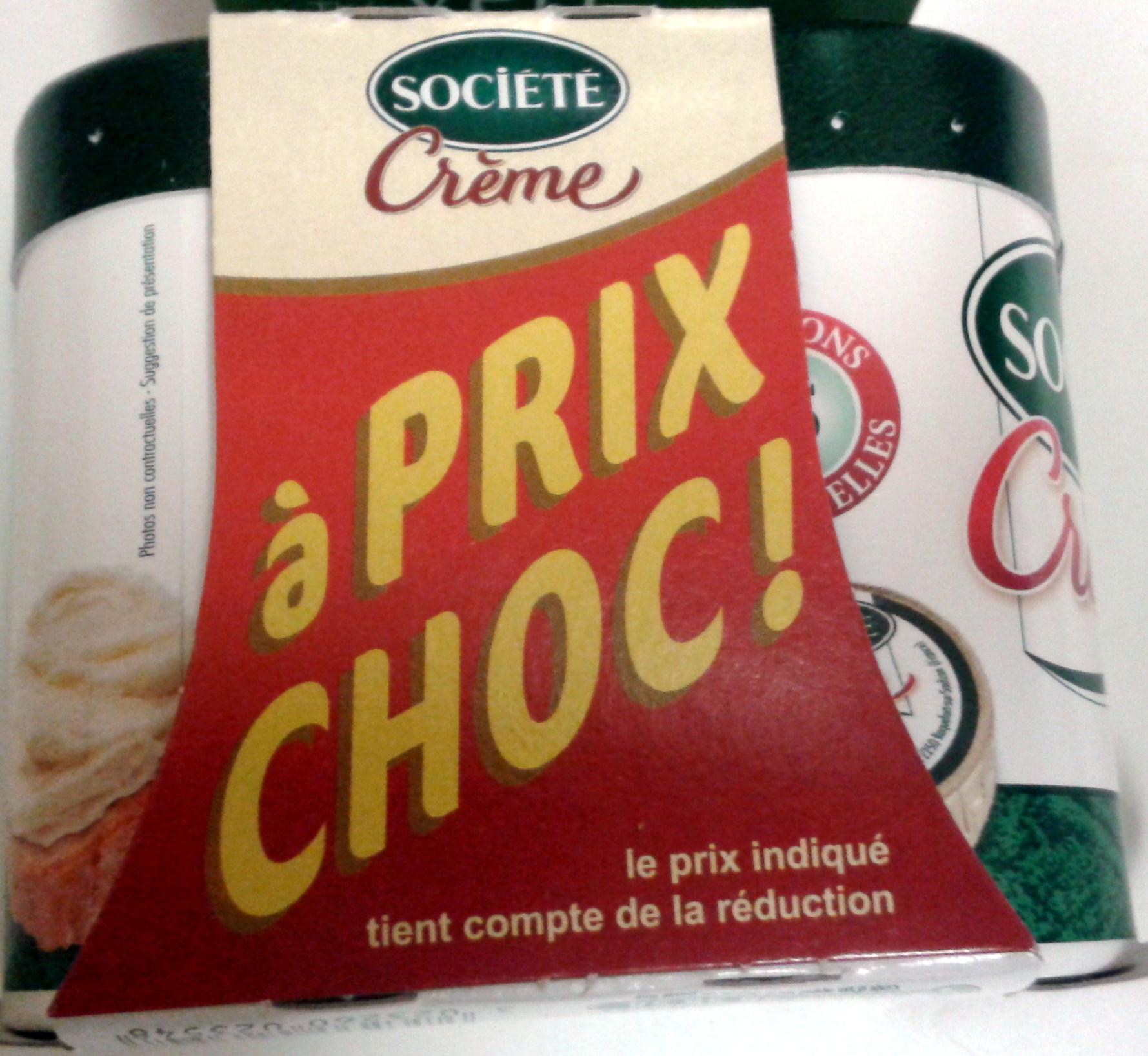 Crème (23 % MG) à Prix Choc ! - Product - fr
