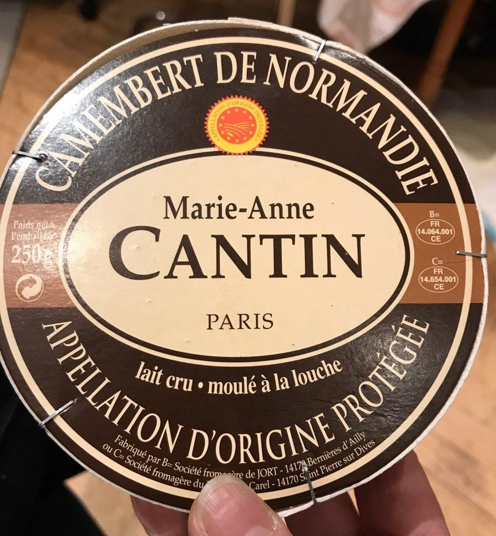 Camenbert de normandie moulage à la main - Product - fr
