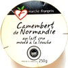 Camembert de Normandie au lait cru moulé à la louche (22% MG) - Produit