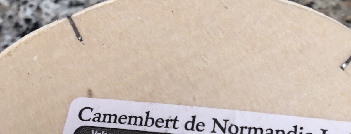 Camembert de Normandie (22% MG) - Ingredients