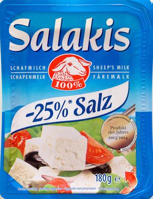 Feta -25% Salz - Produit