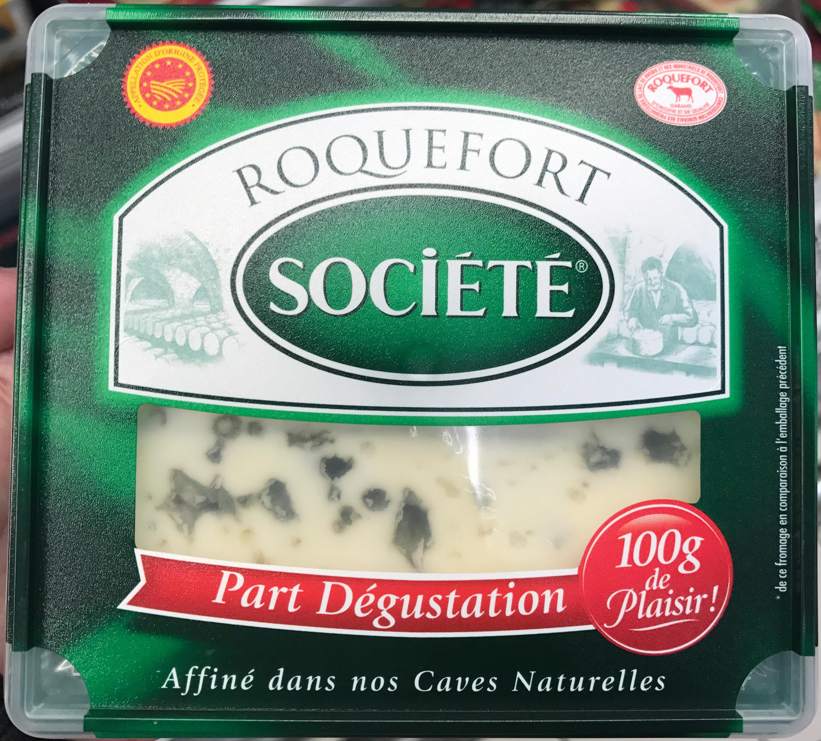 Roquefort AOP (part dégustation) - Produit - fr