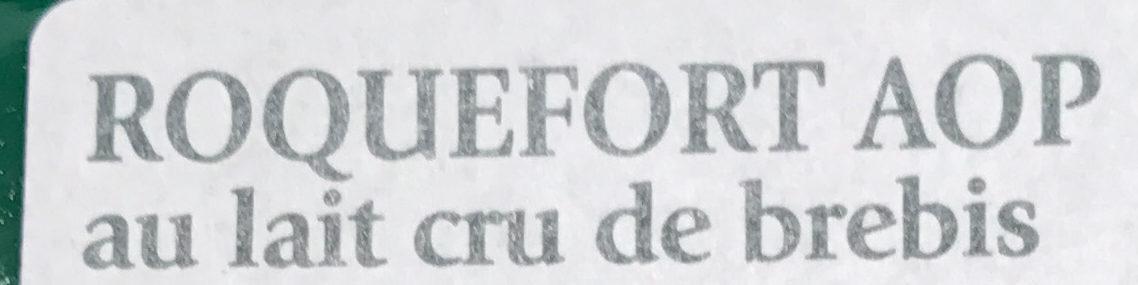 Roquefort AOP (part dégustation) - Ingrédients - fr