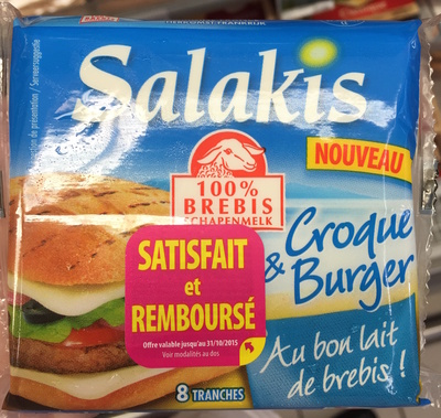 Croque & Burger (17% MG) - Product - fr