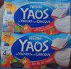 Yaos Le yaourt à la Grecque Sur lit de fraise - Produit