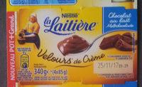 Velours de creme Chocolat au lait 340g - Product